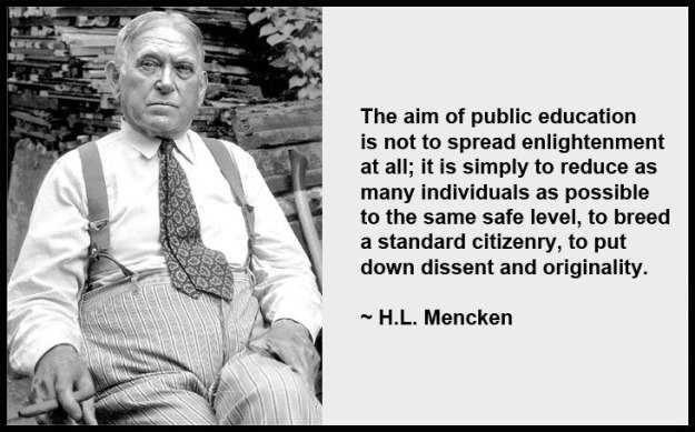 menken on education