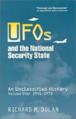 ufos-national-security-state-unclassified-history-volume-1-richard-m-dolan-paperback-cover-art